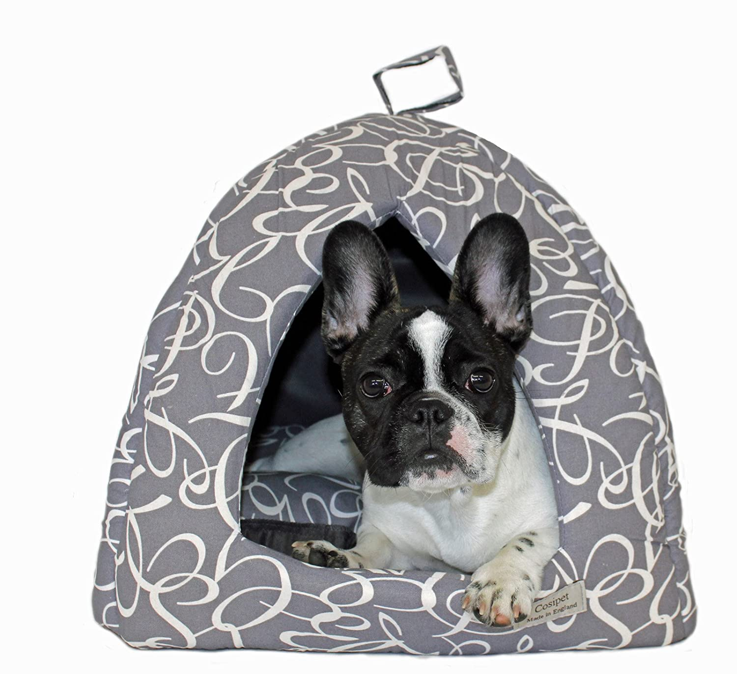 L Cosipet Nocturne Igloo, Large, Grey