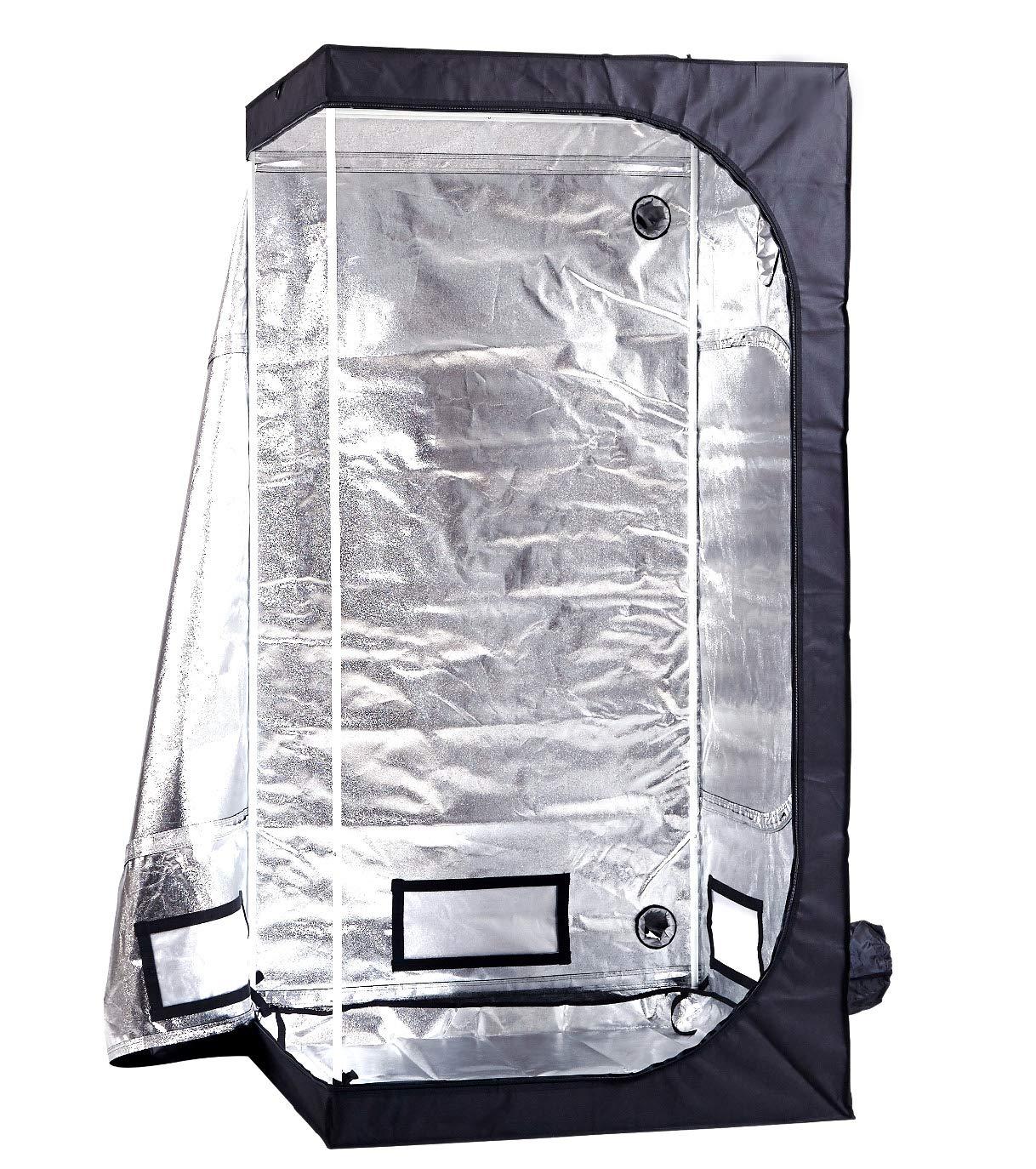 100 x 100 x 200cm GE Original Premium Grow Box HQ Greenhouse Plant Tent for Indoor Use