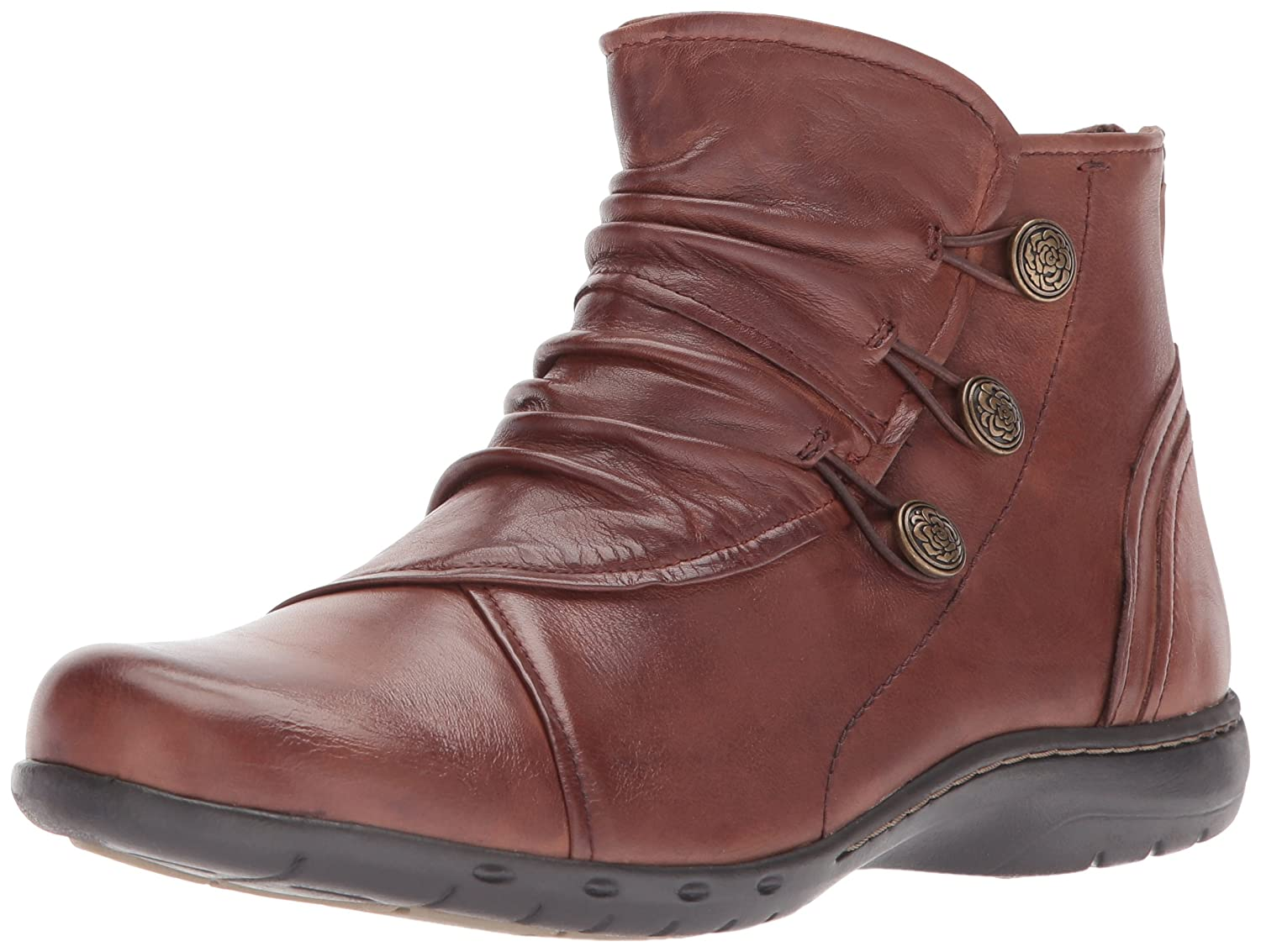 Cobb Hill Women's Penfield Boot B01N7VY4W7 7.5 2E US|Almond Leather