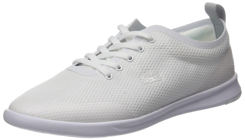 Lacoste Avenir 118 1 SPW, Zapatillas para Mujer 39 EU|Blanco (Wht/Lt Blu)