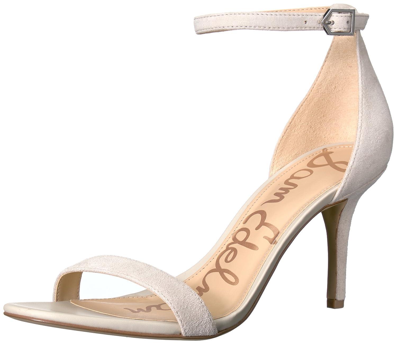 Sam Edelman Women's Patti Dress Sandal B01M19YNP1 6.5 B(M) US|Greige Suede
