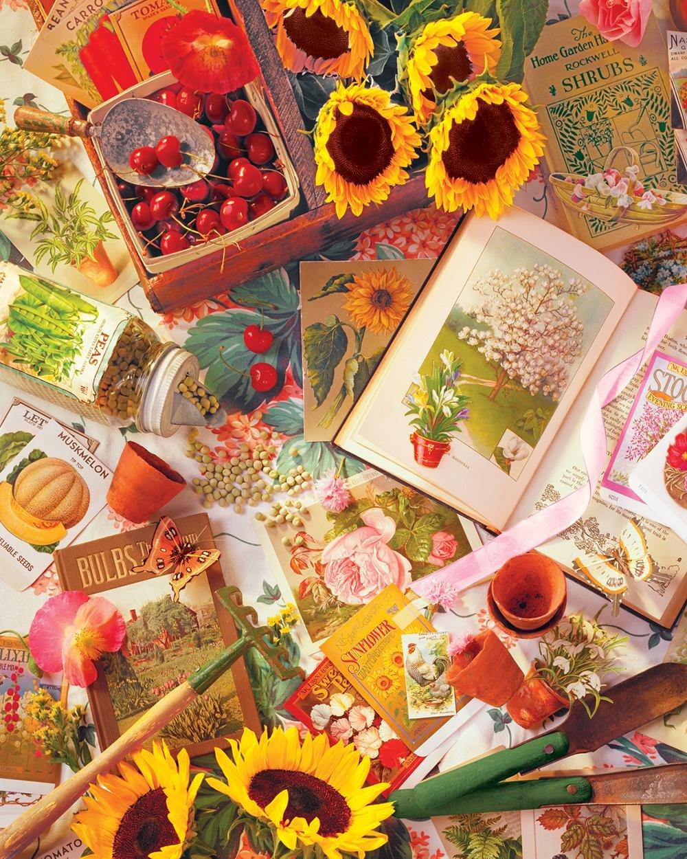 Springbok 83,8–39.357,3 cm Garten Garten cm Beginnings Puzzle (1500 Teile) 37e769