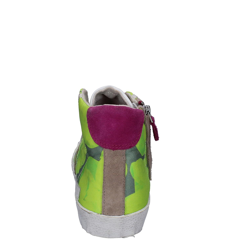 D.a.t.e... Damen (Date Turnschuhe Damen D.a.t.e... Textil grün b4f529