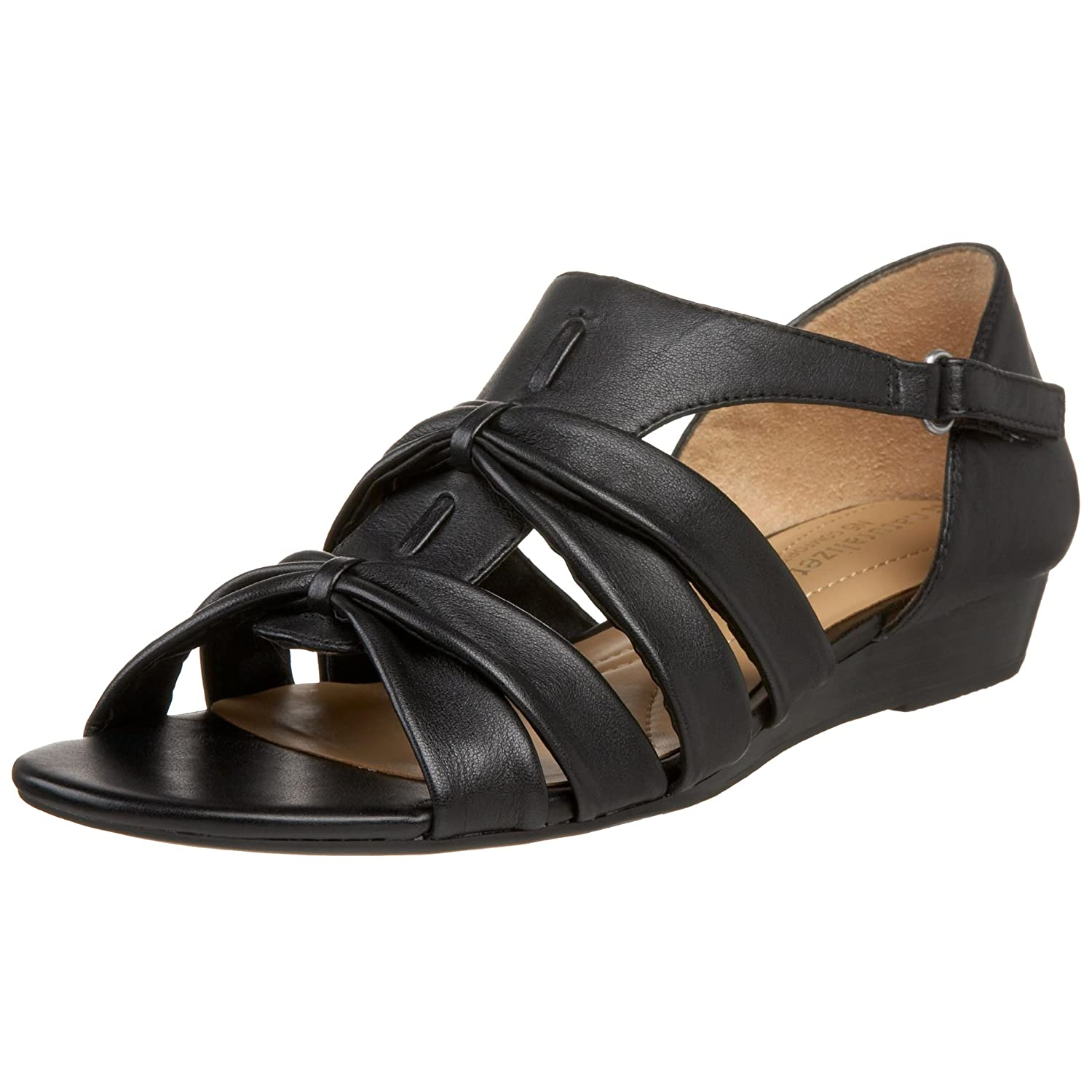 Naturalizer Women's Joslin Strappy Sandal B002GU7SZC 5 B(M) US|Black