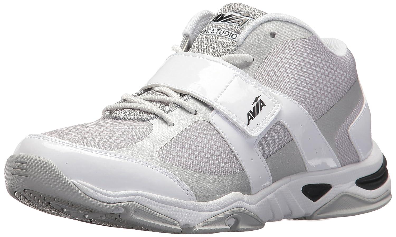 Avia Women's Gfc Studio II Sneaker B06XC1LMDK 10 B(M) US|White/Chrome Silver/Black