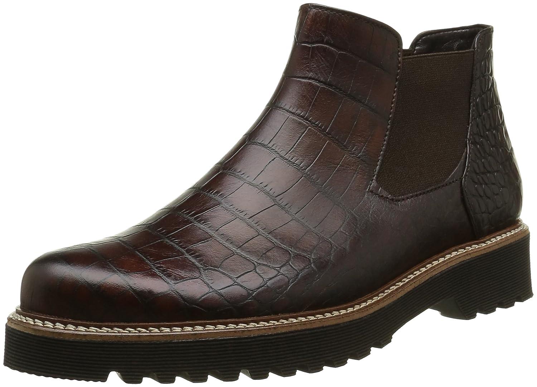 Gabor Shoes Comfort Sport, Botas Chelsea para Mujer38 EU|Marrón (Teak S.s/C)