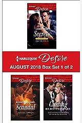 Harlequin Desire August 2018 - Box Set 1 of 2: Lone Star Secrets\A Snowbound Scandal\Craving His Best Friend's Ex