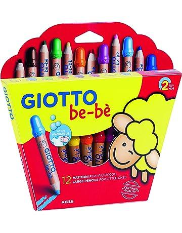 Giotto be-bè 466500 - Estuche 12 súper lápices de colores (mina de 7