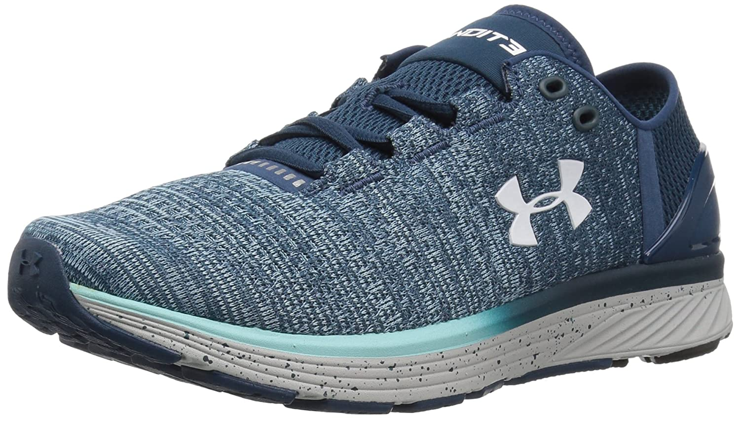 Under Armour Women's Charged Bandit 3 Running Shoe B01N1QP1N3 11 M US|True Ink (918)/Blue Infinity