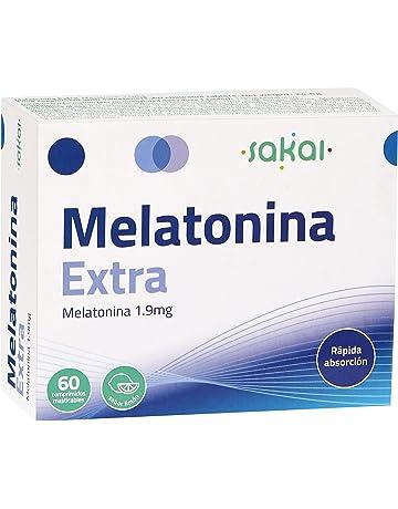 Sakai Melatonina Extra - 60 comprimidos masticables - Ayuda a dormir y descansar mejor
