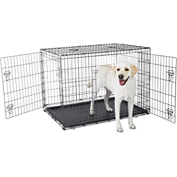Amazon Com Petco Premium 2 Door Dog Crate 42 Quot L X 28 Quot W X