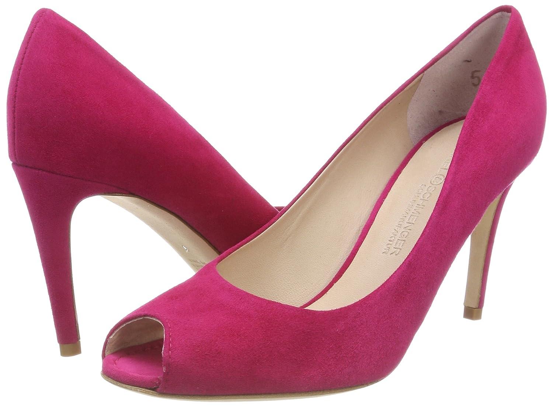 Kennel und Pumps Schmenger Damen Gala Peeptoe Pumps und Pink (Azalea) 5b7f02