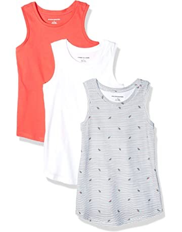 462e5c9e88bb Amazon Essentials Girls' 3-Pack Tank Top