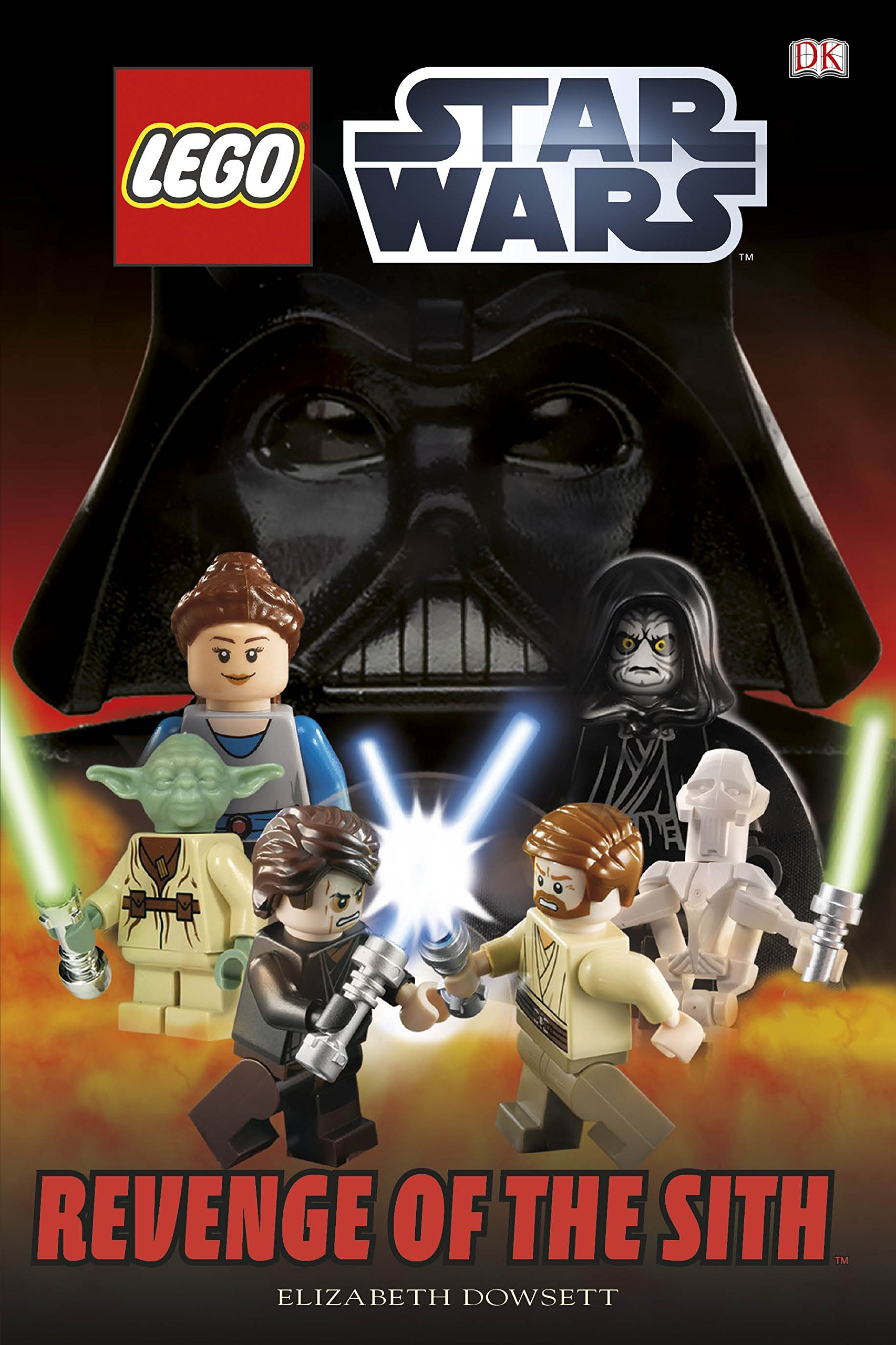 Amazon Com Lego Star Wars Revenge Of The Sith 9781409330363 Dk Books