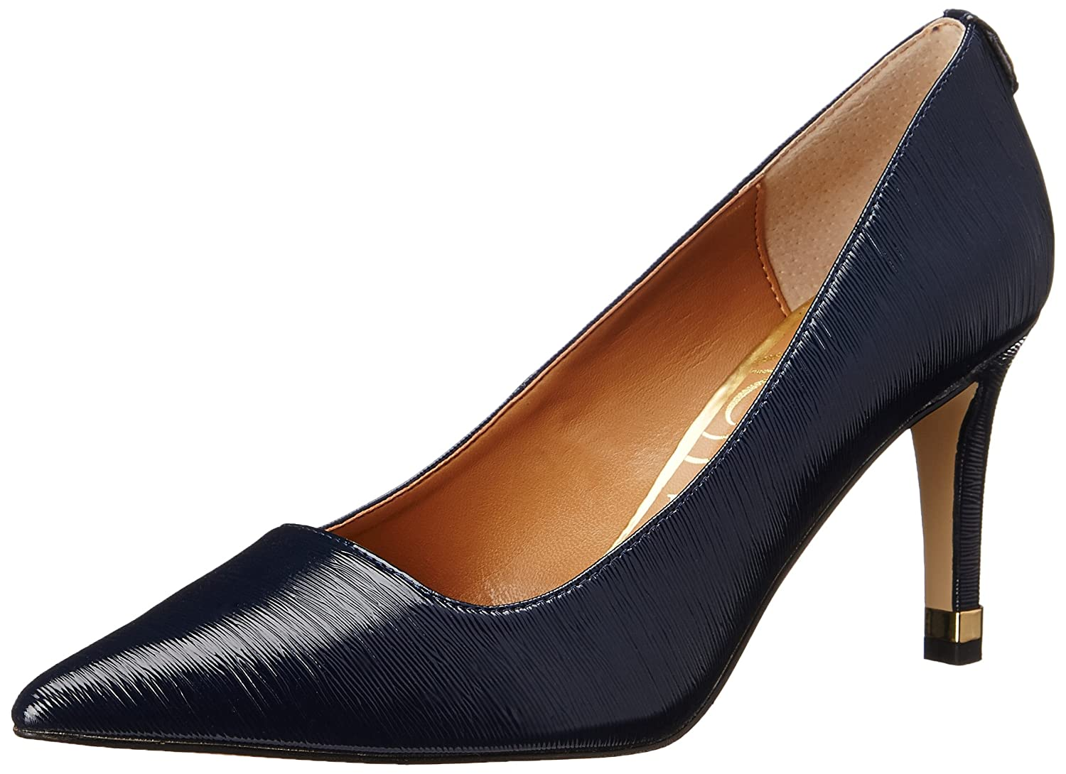 J.Renee Women's Sascha Dress Pump B010AAKFXQ 10 W US|Navy