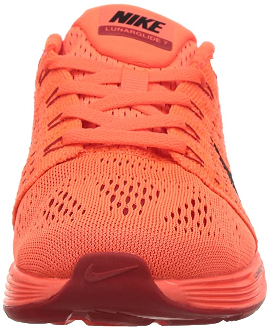 save off e7998 bfaea ... good nike lunarglide 7 running femme rouge rot hyper orange  universitätsrot himbeerrot schwarz 801 405 amazon