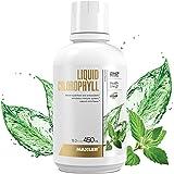 Maxler Chlorophyll Liquid Mint Flavor - Internal Deodorant for Body Odor & Bad Breath Supplement - Vegan Liquid Chlorophyll -