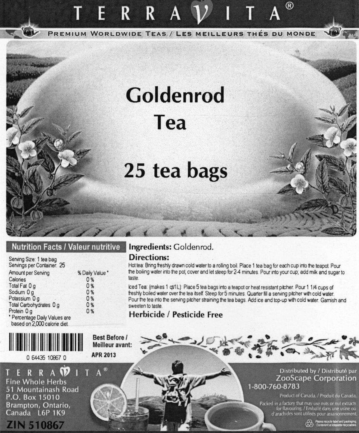 recipe: goldenrod tea amazon [20]