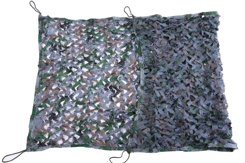 6M×8M  Fulitanghuang boisland Digital Camouflage Camouflage Net Chasse sur Le Terrain Camping Tente Oxford Tente, Couverture De Camouflage Net Ombre Extérieure