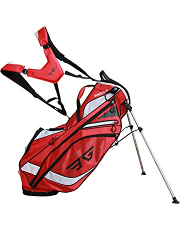 af8aeb32f10 Eagole Super Light 4.3 Lbs, Golf Stand Bag with 8 Pockets (one Cooler Pouch