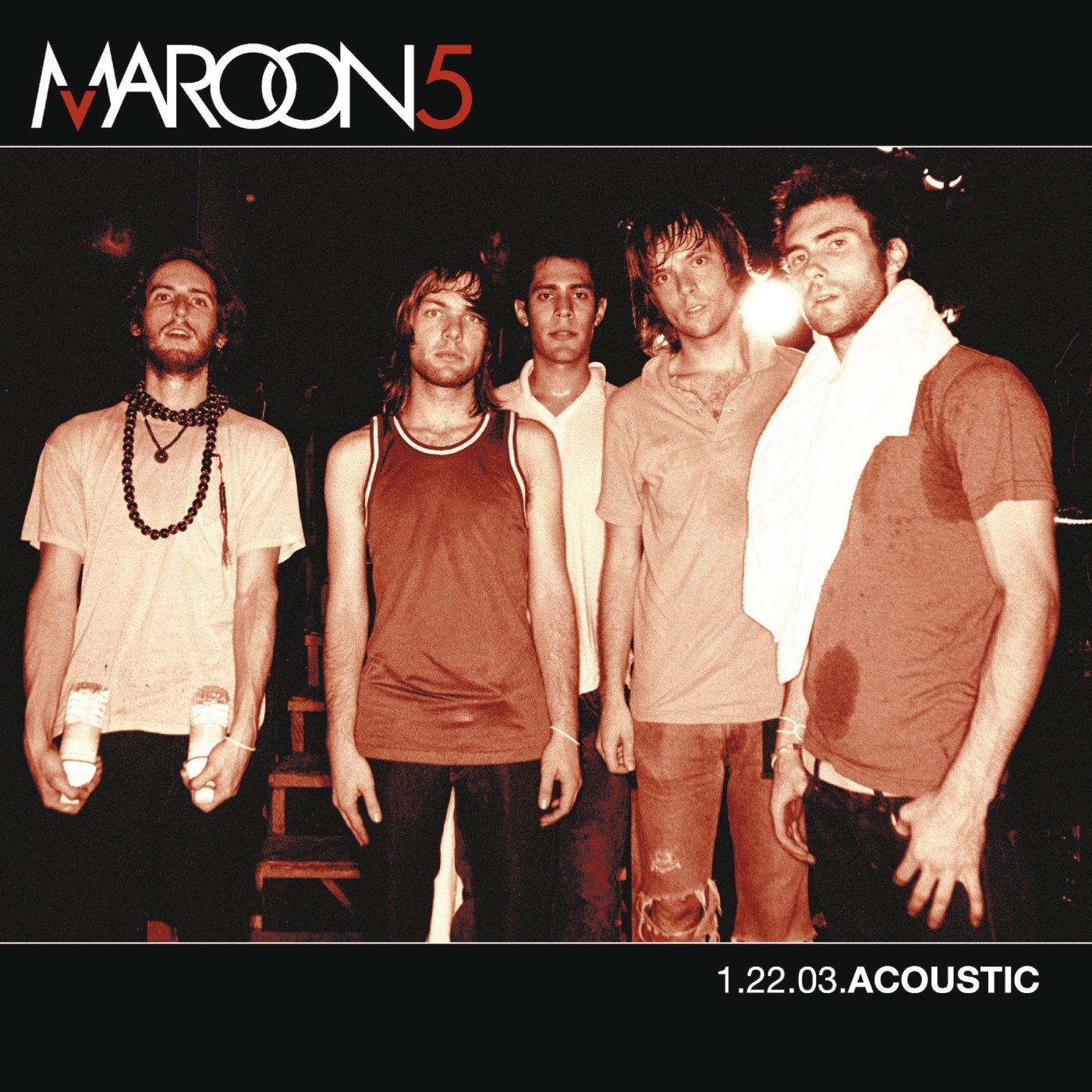 BAIXAR ACOUSTIC CD 5 1.22.03 MAROON