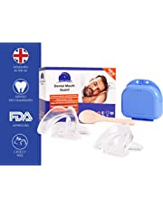 Mouth Guard for Grinding Teeth - 4 x UK Designed Teeth Grinding Guard - Dentist Recommended