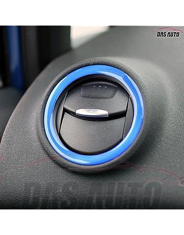 Das Automotive Fiesta - Anillos de ventilación de aire con insignia Zetec S ST Line Ecoboost