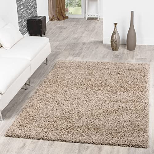 Incroyable Tu0026T Design Shaggy Rug Long Pile High Pile Modern Carpet, Size:120x170 Cm,