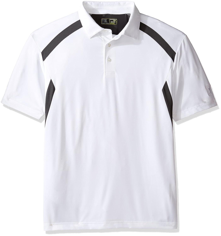 c39eaa18 Pga Tour Mens Airflux Colorblock Polo Shirt