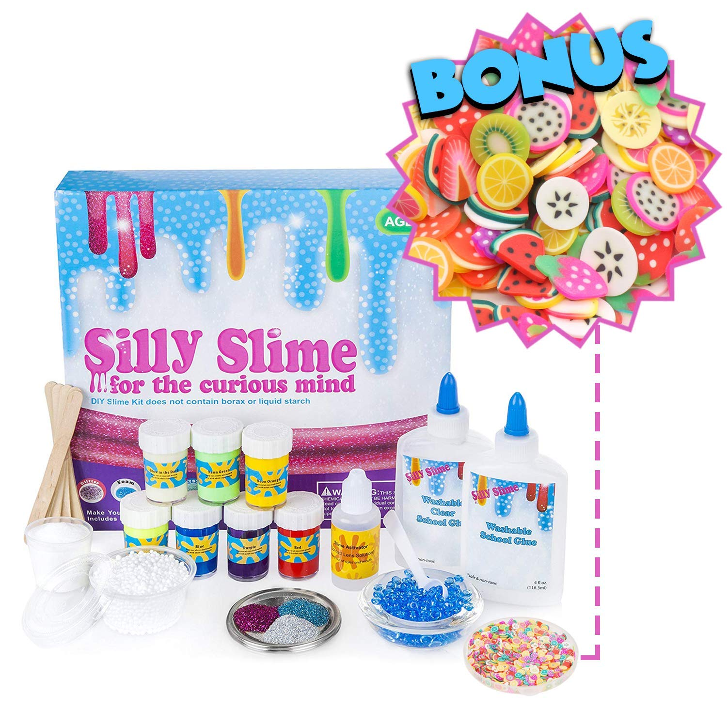 How to make crunchy slime with home ingredients