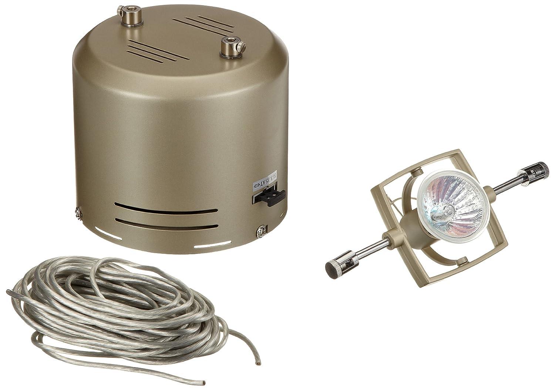 Paulmann Paulmann Paulmann 97505 Wire System Mac II 210 6x35W GU5,3 Nickel satiniert 230 12V 210VA Metall 0828ec