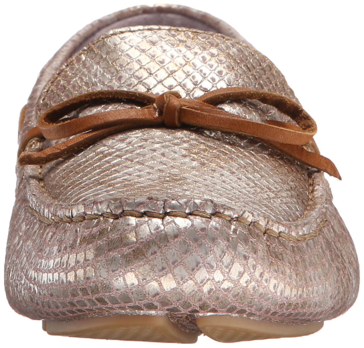 Johnston & Murphy Women's Maggie Camp Moccasin B012S15JHM 7 M US|Champagne Metallic