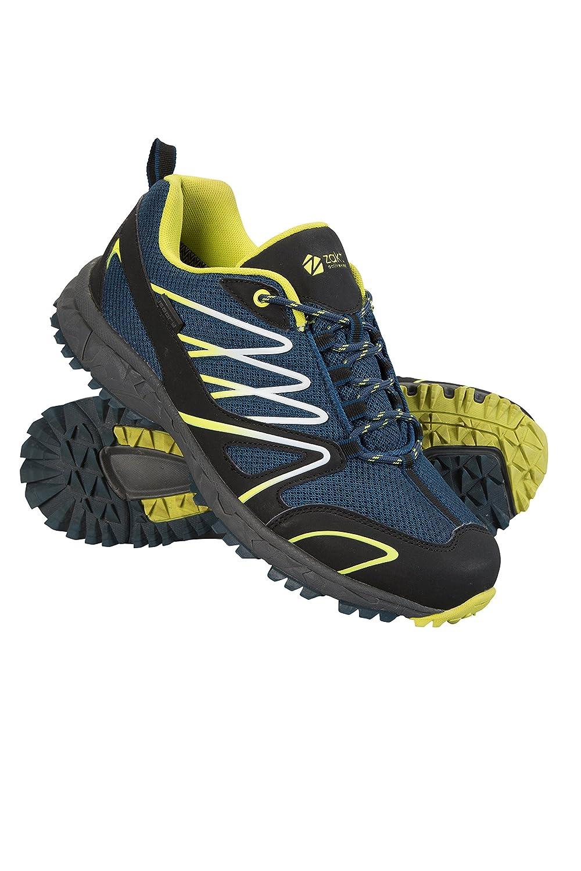 Mountain Warehouse Enhance Wasserfeste Laufschuhe für Herren - Atmungsaktive Freizeitschuhe, weiche Wanderschuhe, strapazierfähige Herrenschuhe - Schuhe für den Alltag