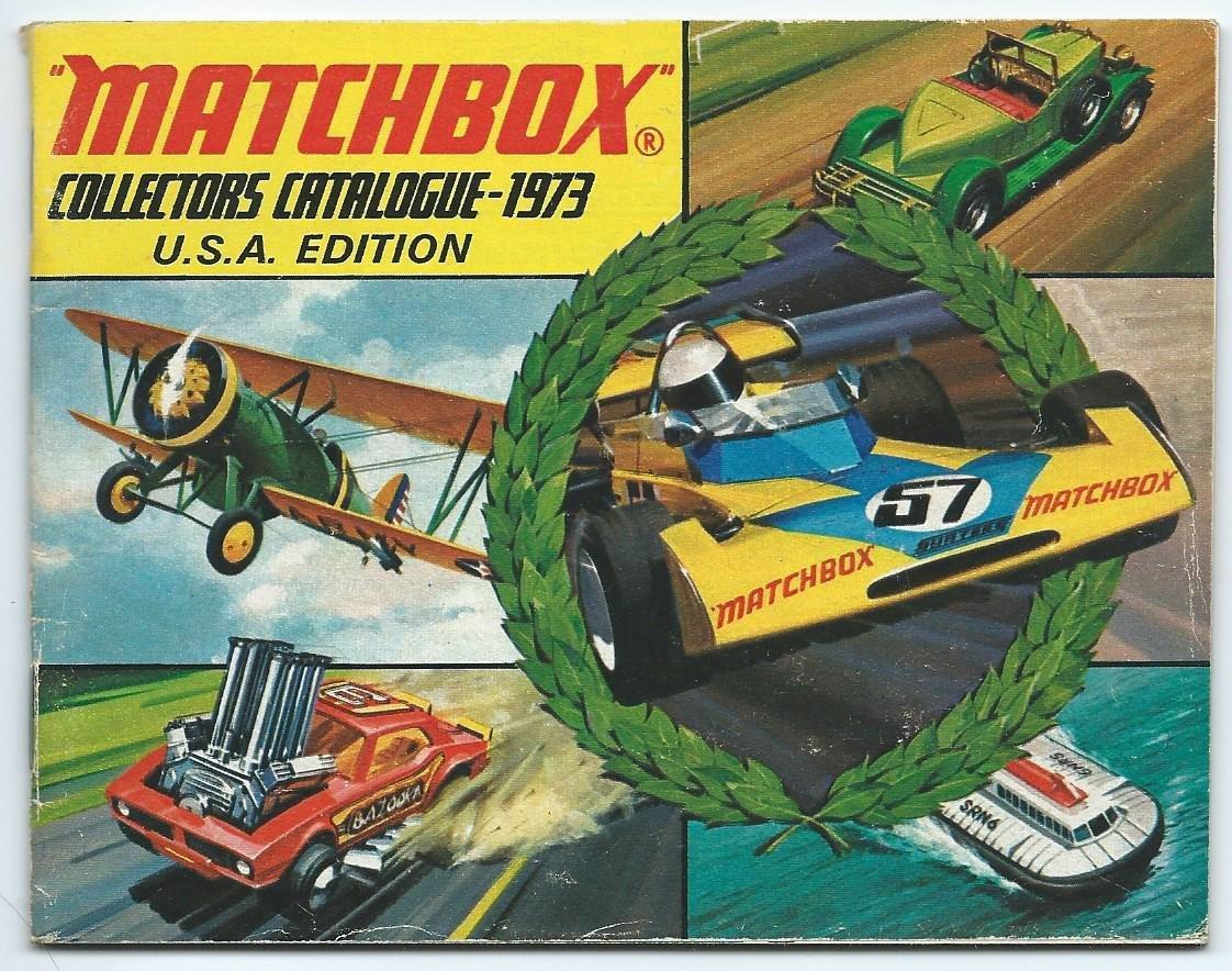 Matchbox 1973 Collector/'s Catalog
