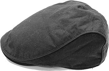 1e8bc7fc Heritage Traditions Mens Classic Wax Cord Flat Cap Hat