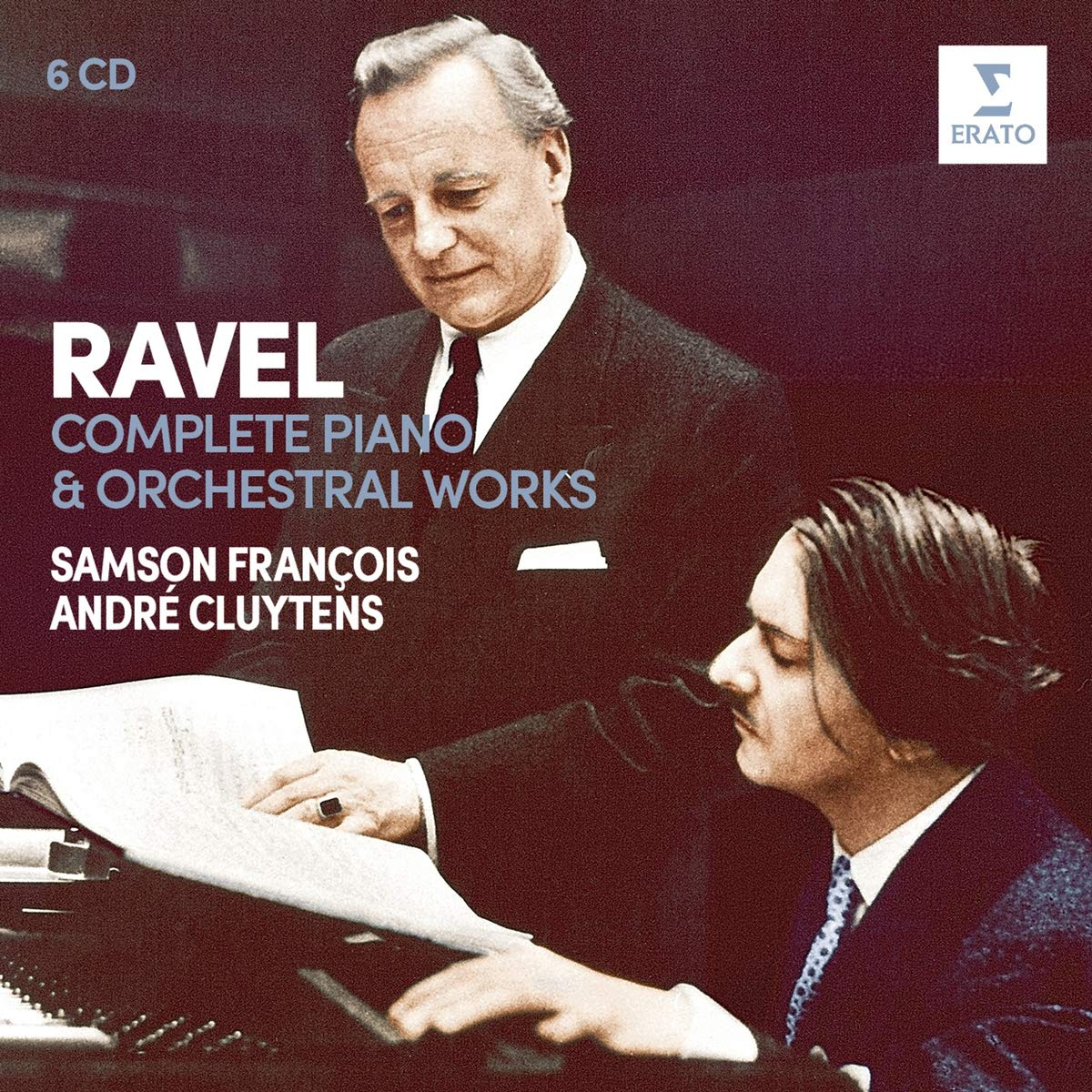 CD : ANDRE CLUYTENS - Ravel: Complete Piano & Orchestral Works (6PC)