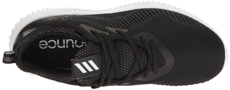 adidas Performance Women's Alphabounce W Running Shoe B01H7WNN98 9.5 B(M) US|Black/White/Utility Black