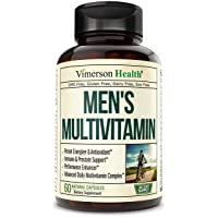 Men's Daily Multimineral Multivitamin Supplement. Vitamins A C E D B1 B2 B3 B5 B6...
