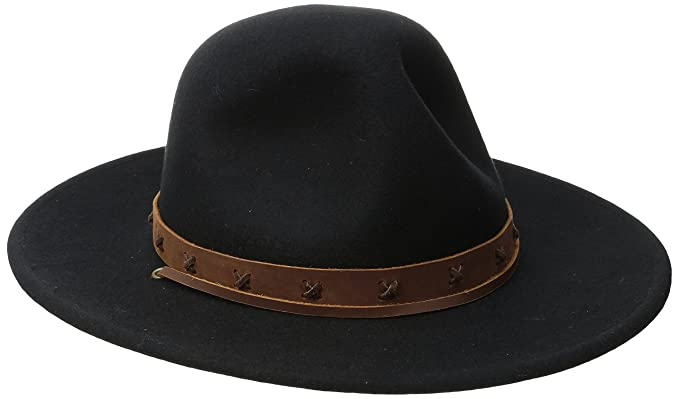 41688dd54f1f1 ... store brixton mens clay hat black tan small f39e0 50896