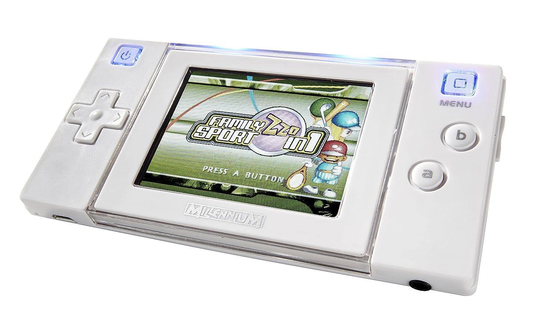 Millennium M521 – Arcade Neo 2.0, Consola de diseño vídeo Juego, Color blanco