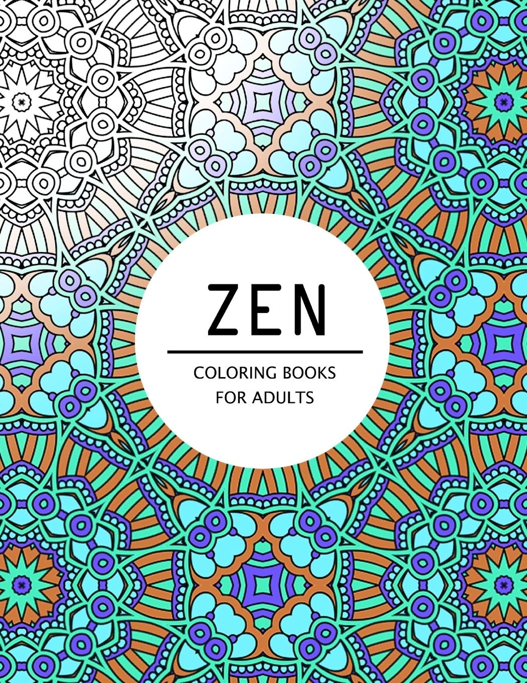 Amazon Com Zen Coloring Books For Adults Coloring Pages For Adults 9781534911154 Mindfulness Publishing Books