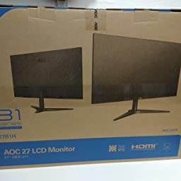 "AOC 24B1XHS - Monitor de 24"" FHD (IPS, VGA, HDMI, Sin Bordes ..."