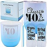 40th Birthday, Birthday Gifts for Women 40, 40th Birthday Gifts for Women, 40th Bday Gifts for Women, 40th Birthday Gift, Bir