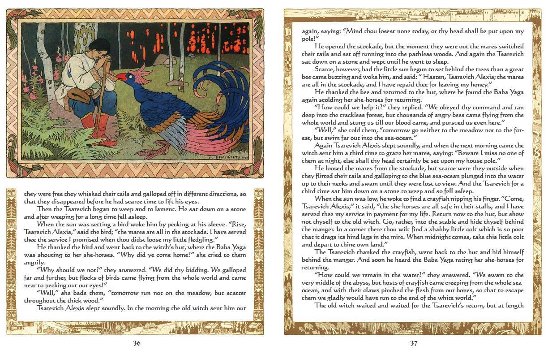 Russian Fairy Tale Web