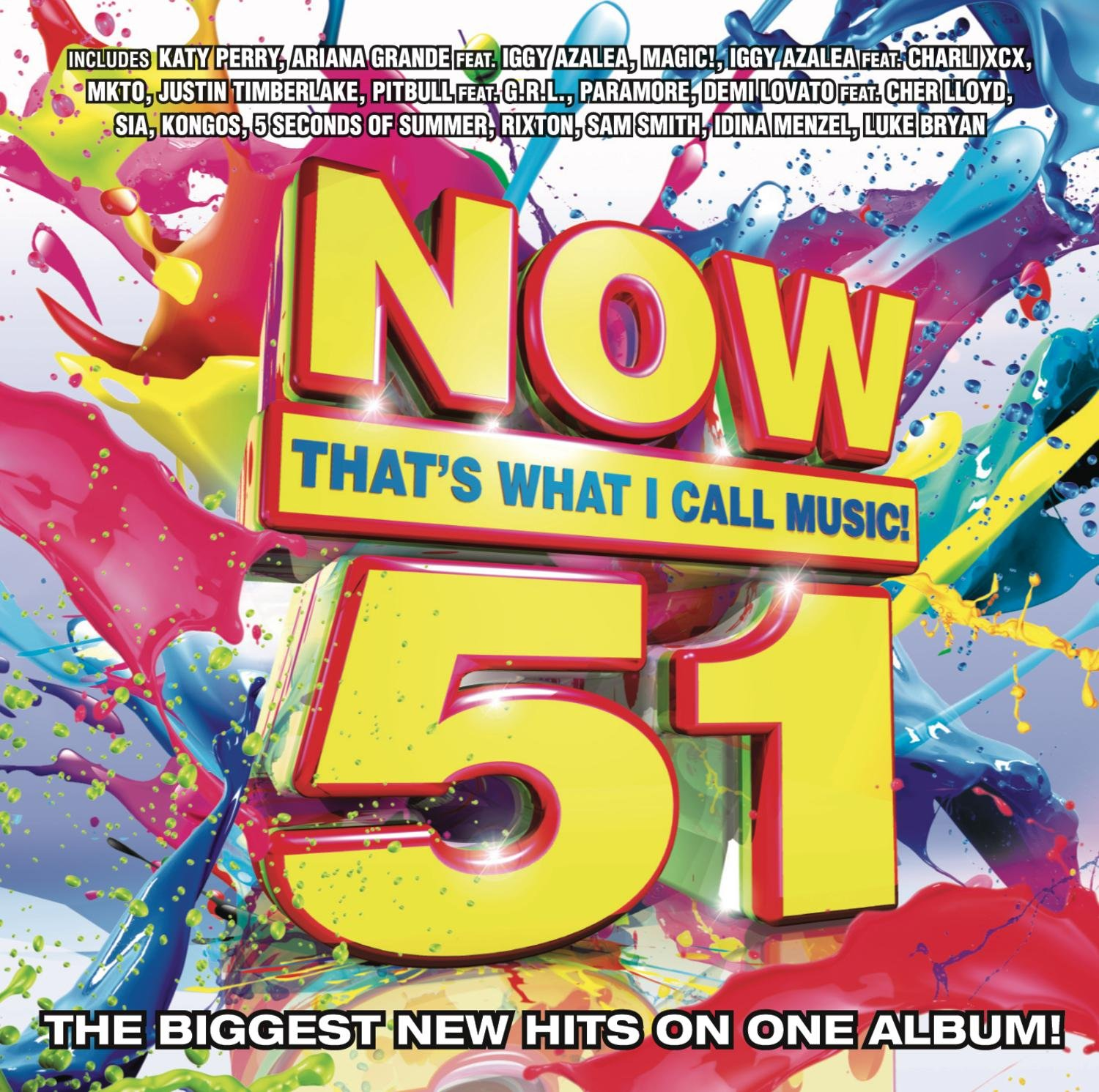 CD : Now 51: That's What I Call Music / Various (CD)