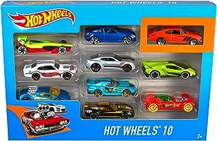 Hot Wheels 10-Car-Pack - Styles May Vary
