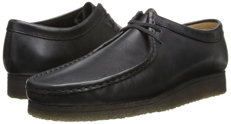CLARKS Men's Wallabee Shoe Leather B00IJLTDQE 7.5 D(M) US|Black Leather Shoe ae47a2