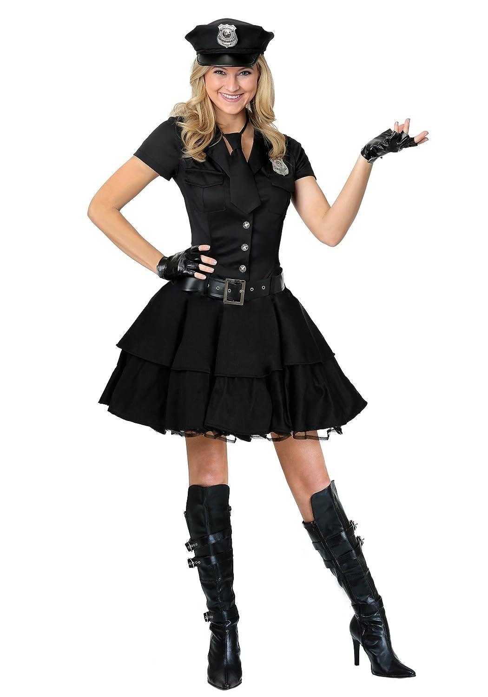 Fun Costumes Spielerisches Polizei-Kostüm der Frauen - S