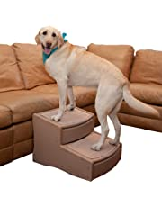 Pet Gear Easy Step II Pet Stairs, Extra Wide, Tan