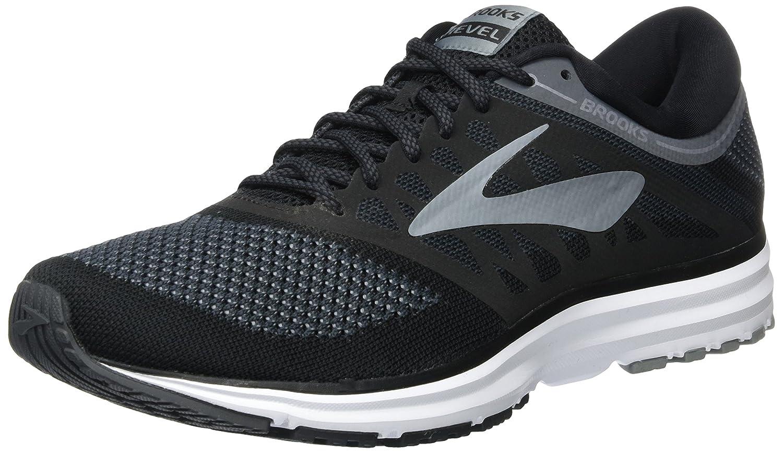 Brooks Revel, Zapatillas de Running para Hombre 47.5 EU|Negro (Blackanthraciteprimergrey 1d002)